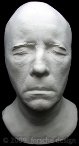 Christopher lee life mask hammer film 39 s dracula lord of for Chris lee architect